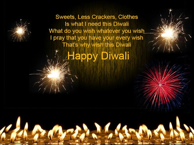 Diwali Picture Messages, Hindi Wishes Images 2016