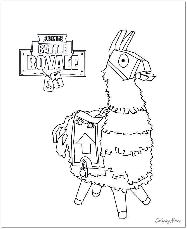 18 Free Printable Fortnite Coloring Pages Season 10, Drift, Llama, Skull  Trooper - COLORING PAGES FOR KIDS FREE PRINTABLE