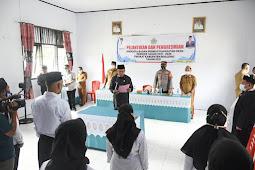 Anas Jusuf Lantik 10 Anggota BPD di Kecamatan Paguyaman Pantai