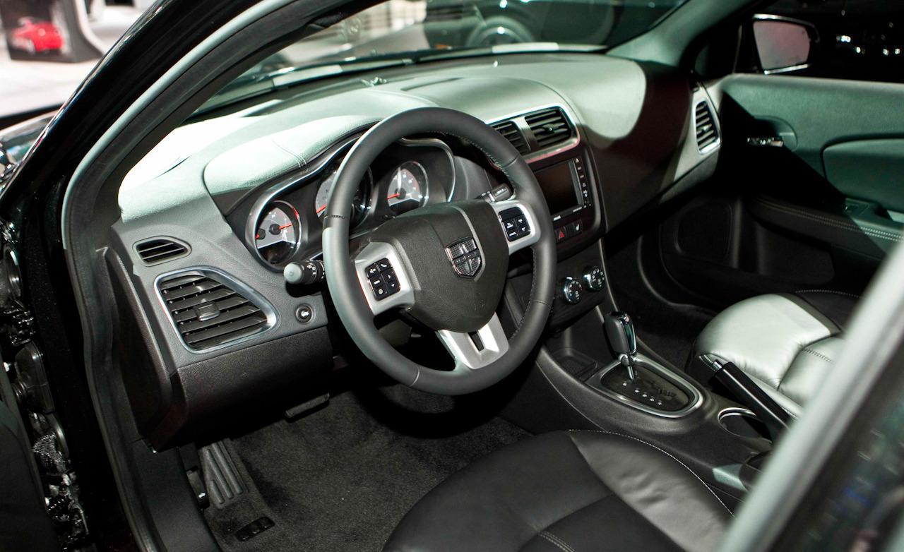 Cars For Wallpaper  2013 Dodge Avenger Sedan