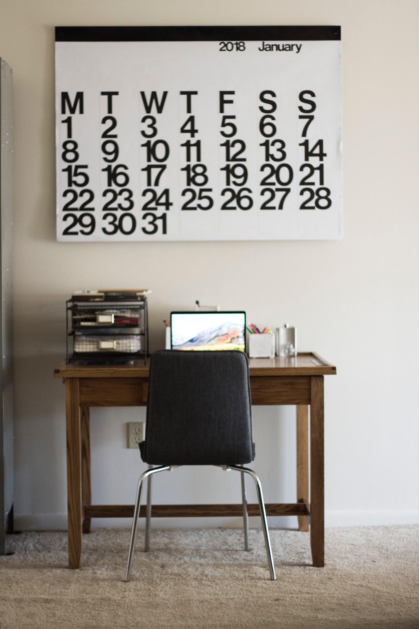 przestrzeń do pracy w domu