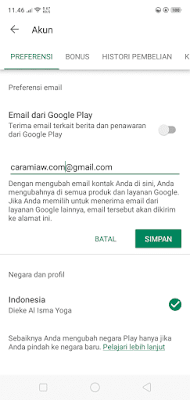 Mengatasi Error Perbarui Play Store