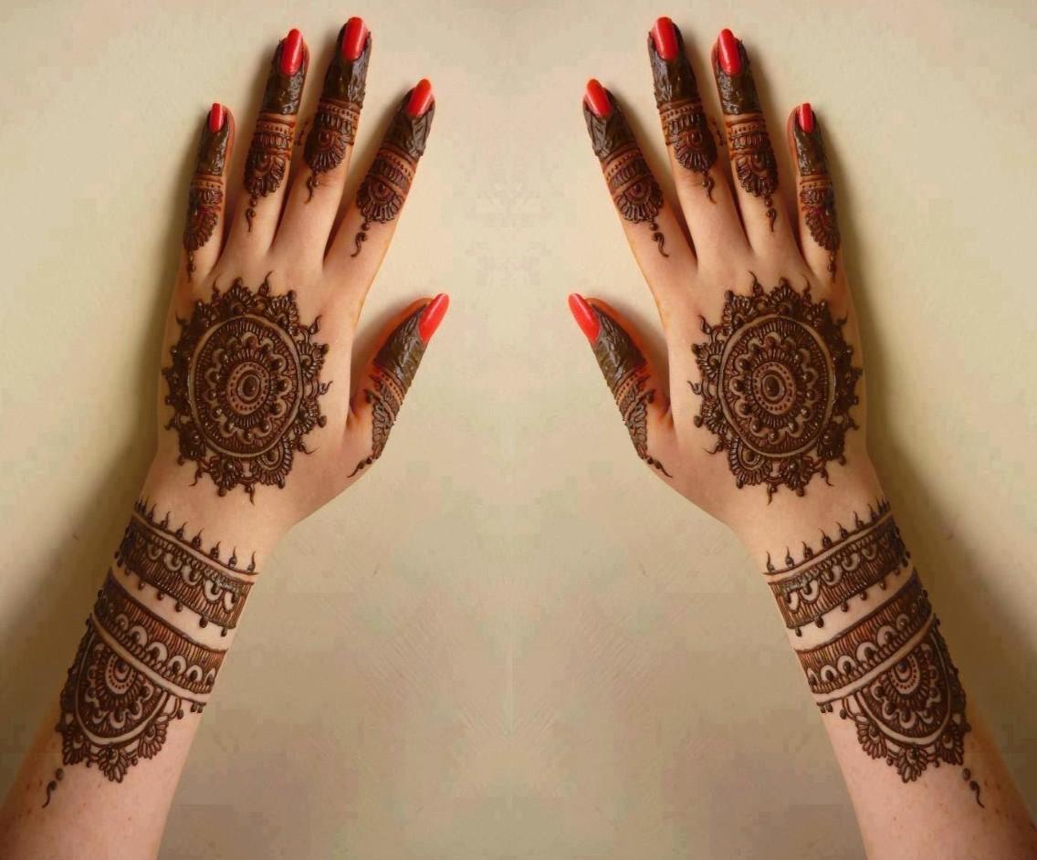 Arabic Henna Designs Dubai for Eid