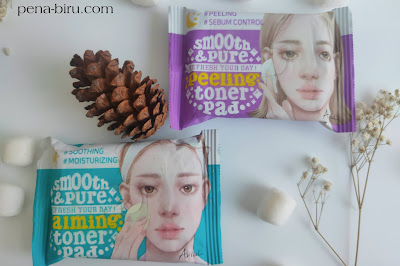 Review Ariul Smooth & Pure Peeling Calming Toner Pad