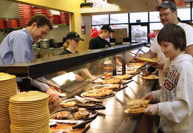 Self-service da Cici's Pizza Orlando