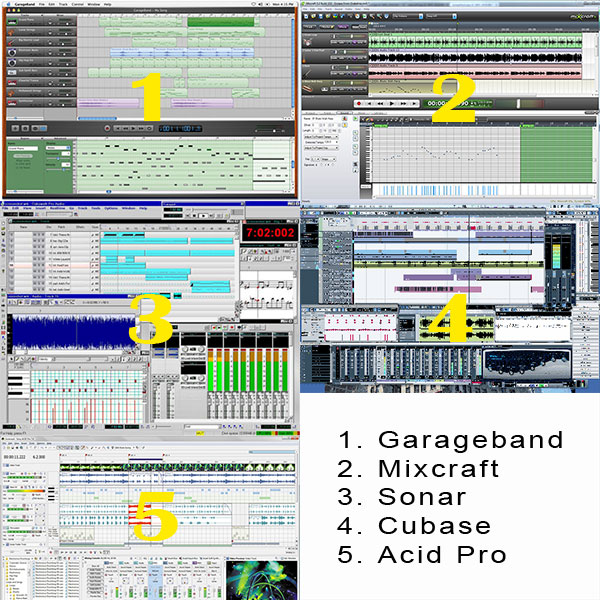 Garageband for Windows Alternatives