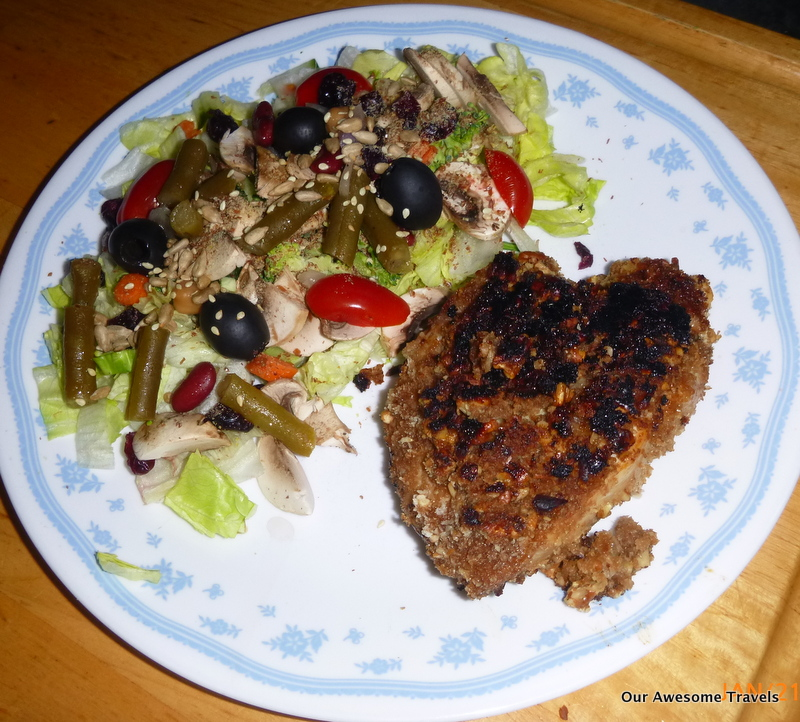 Cooking on my Weber Q-100 and other recipes: Honey Pecan Chicken