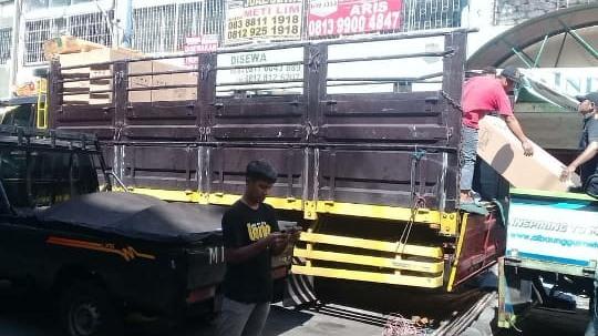Sewa truk fuso Jakarta Mojokerto