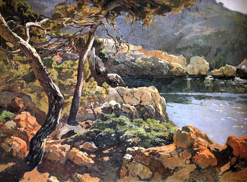 Mallorca en pintura josep puigdengolas barella 1906 1987 - Pintores de barcelona ...