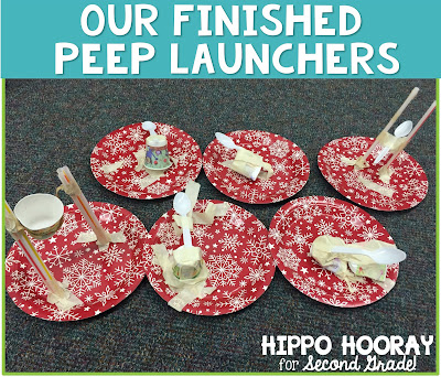 Looking for a fun, seasonal cooperative learning project? Challenge your students to make Peep Launchers! Blog post includes suggested materials and a freebie student planning sheet.