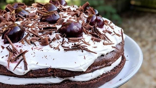 recette, Gâteau au chocolat façon forêt noire