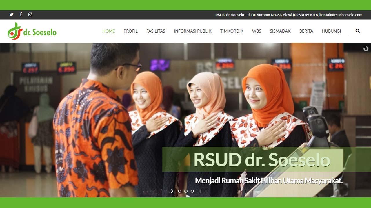 Mengusung Konsep Modern dan Asri RSUD dr Soeselo Akan Menambah Gedung Lagi Berlantai Empat
