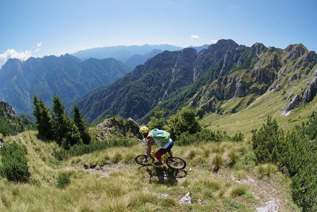 Bikebergsteigen in und um Udine