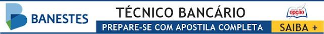 Apostila Banestes 2018 Técnico Bancário - Apostilas Opção