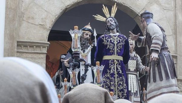 El Señor del Perdón irá en un paso en el Vía Crucis de la Agrupación de Cofradías de Córdoba