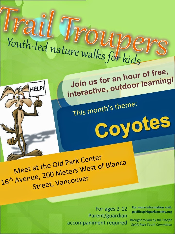 Pacific Spirit Park Society Events