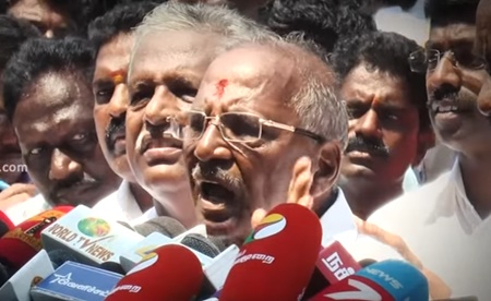 RK Nagar voters are with me – Madhusudanan