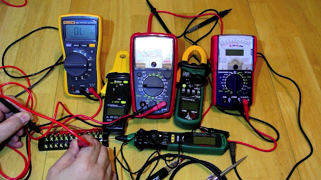 What is the different types of Multimeter ?