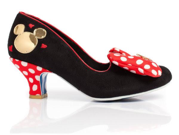 irregular choice disney minnie mouse shoes
