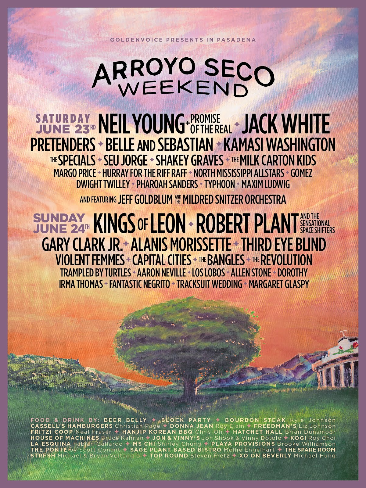 Get Tickets To Arroyo Seco Weekend Festival in Pasadena - June 23 & 24!