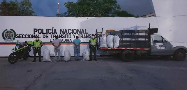 hoyennoticia.com, Sorprendidos con 40 bultos de carbón vegetal sin documentos