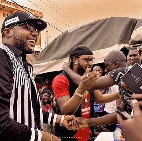 """Kcee, Five Star Music - Unveils 'Five Star Project Empowerment Foundation' [PHOTOS]  Popular music artist, Kcee and his brother, E-Money has unveiled a charity foundation being sponsored by them in the name of their Recording Label - """"Five Star Music""""."""