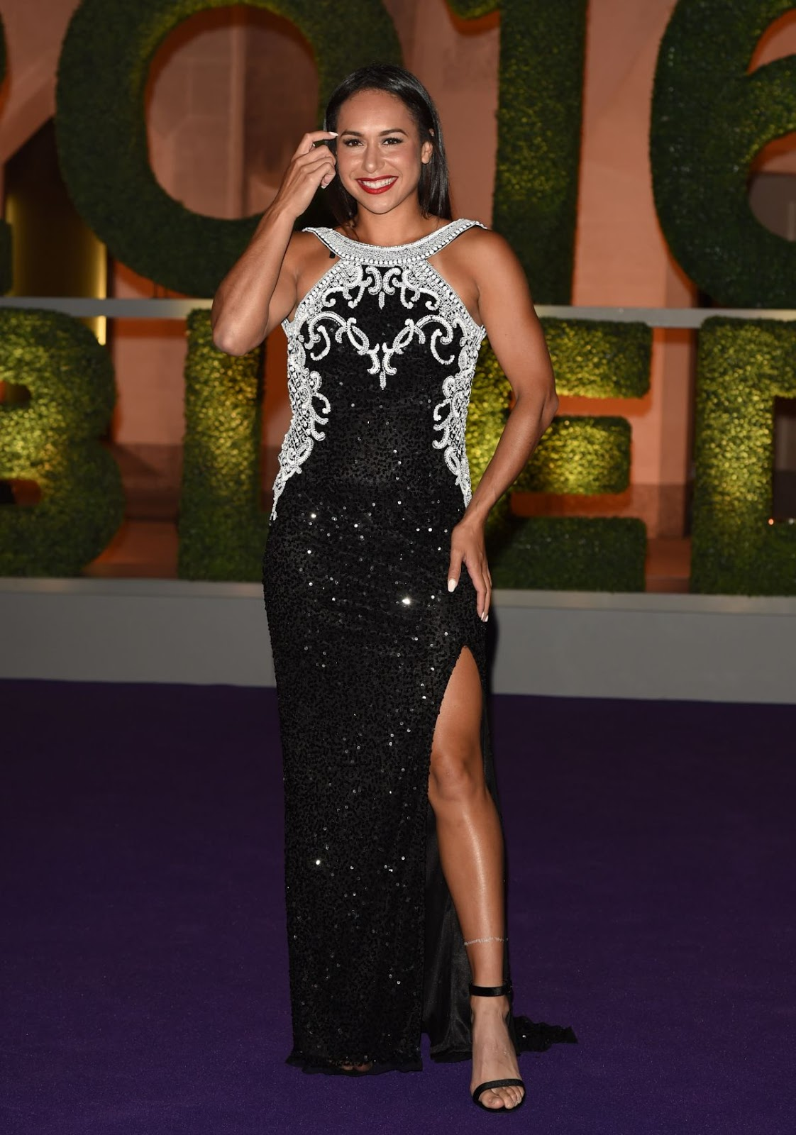 HD Photos of Heather Watson at Wimbledon Champions 2016 Dinner in London