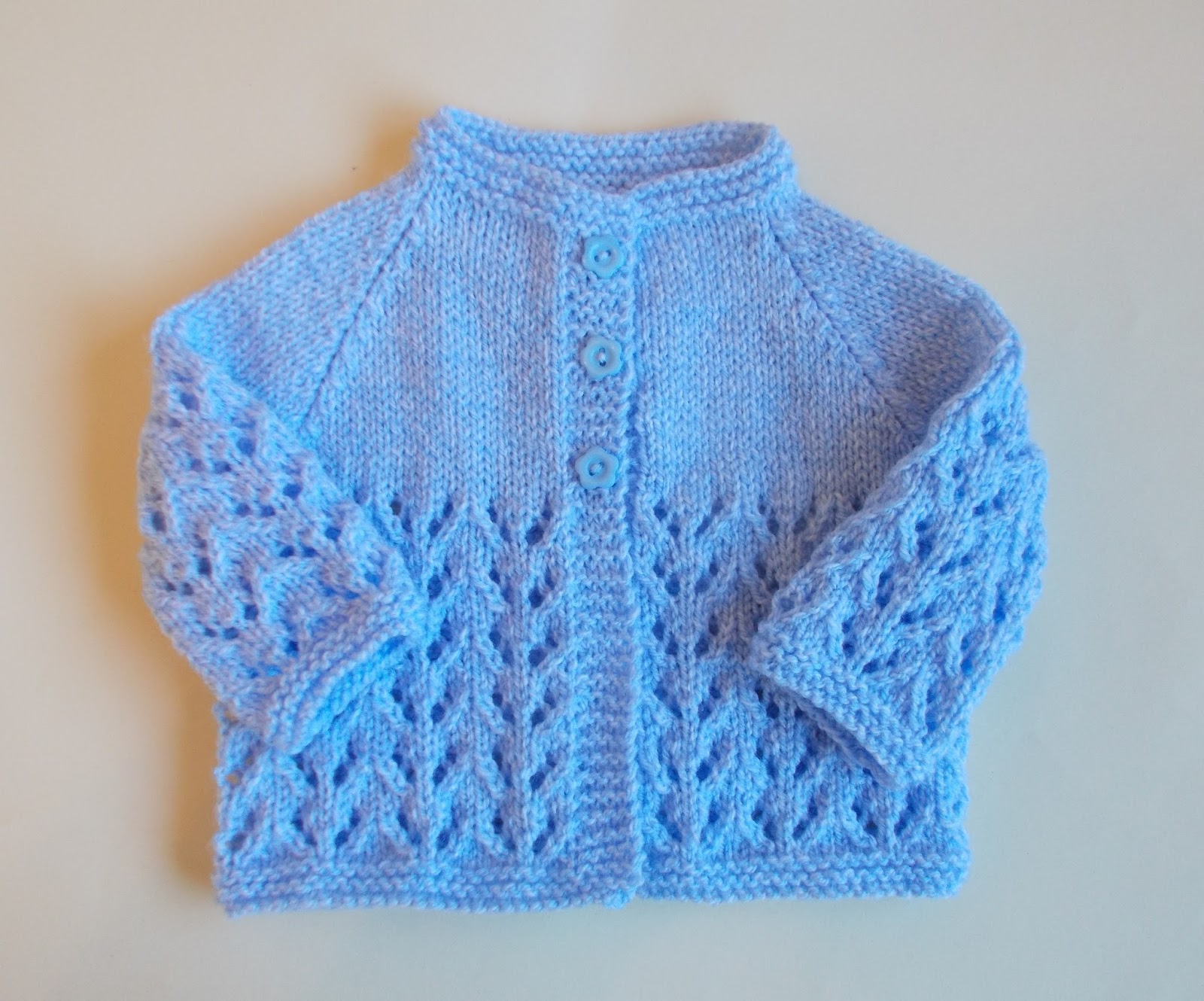 Knitting Pattern Baby Jacket : mariannas lazy daisy days: Bibi Baby Jacket
