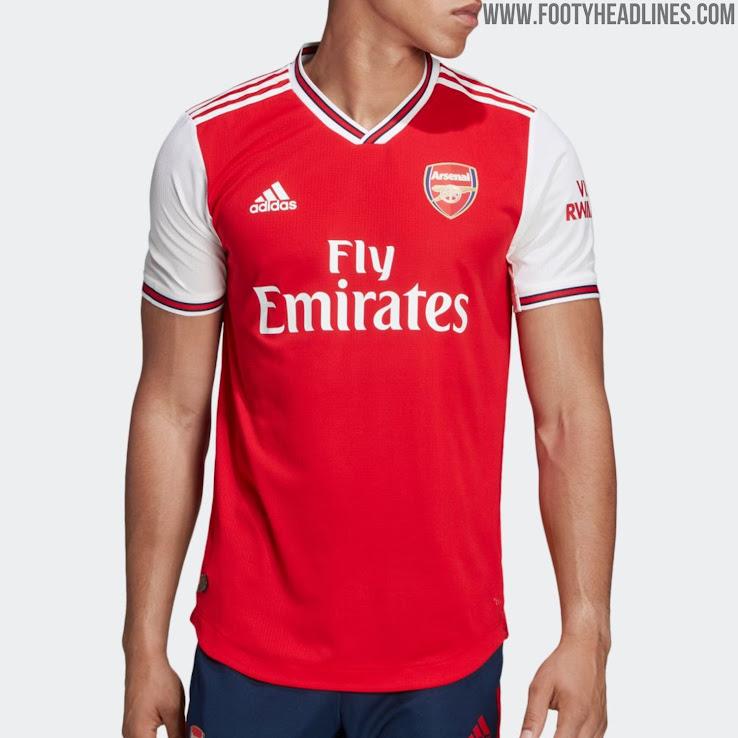 Adidas Arsenal 19 20 Home Kit Released Footy Headlines