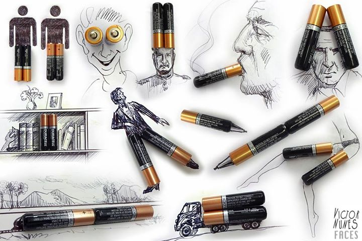03-Battery-Drawings-Victor-Nunes-The-Art-of-Making-and-Drawing-Faces-using-Everything-www-designstack-co
