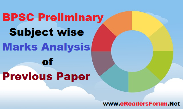 BPSC Prelim Section wise Analysis of Previous Papers