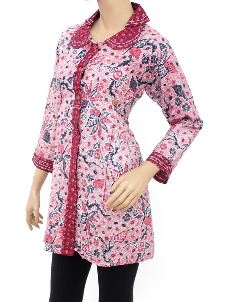 Model Baju Atasan Batik Cantik Untuk Para Wanita