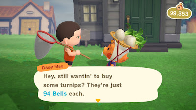 Buying Turnips On Animal Crossing (Week 11)