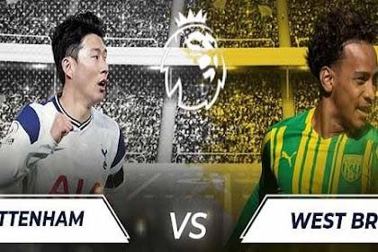 Link Live Streaming Liga Inggris Tottenham Vs West Brom