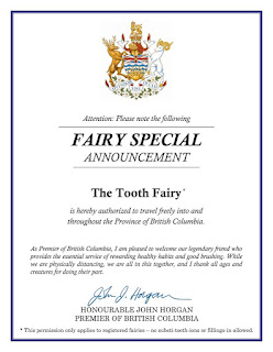 Image: The Tooth Fairy is an Essential Worker | Fairy Special Announcement