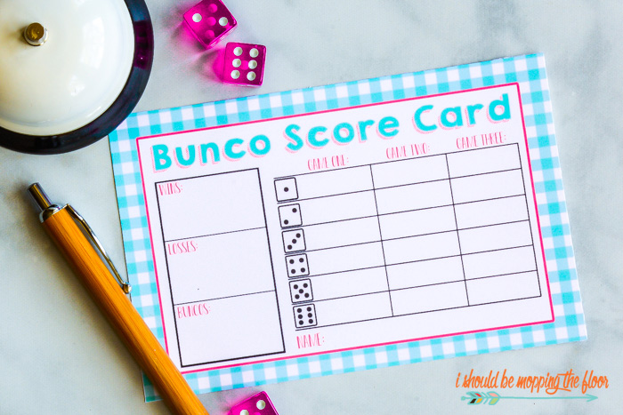 photo relating to Cute Bunco Score Sheets Printable identify Spring BUNCO Increase-Upon Pack of Printables