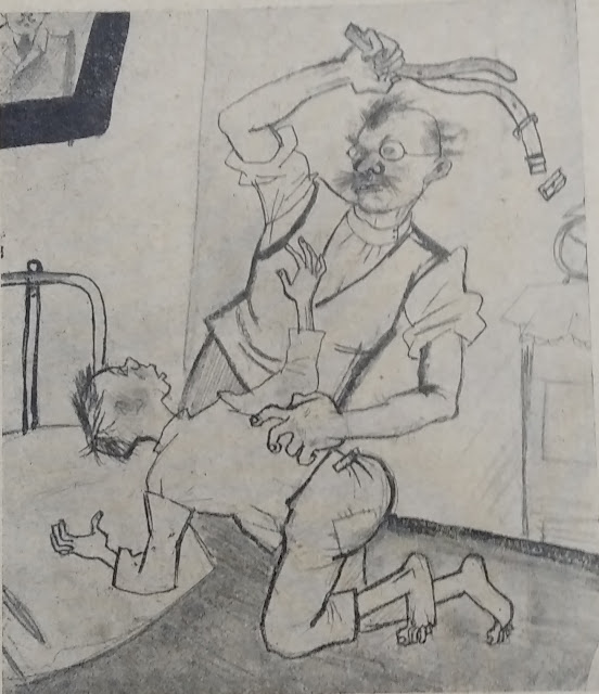 """Карикатуры журнала """"Бегемот"""", 1927 год"""