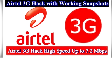 Cheat Codes For Airtel 3G