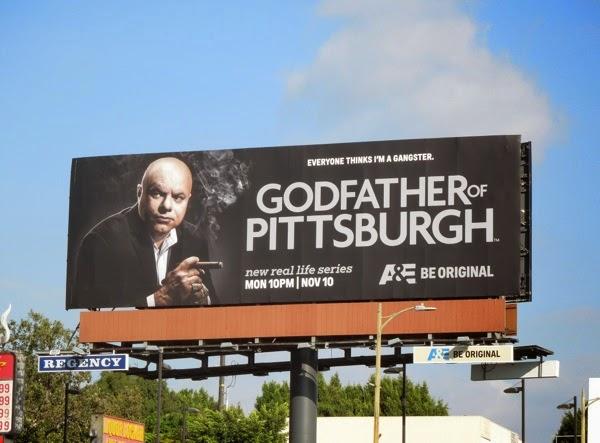 Godfather of Pittsburgh series premiere billboard