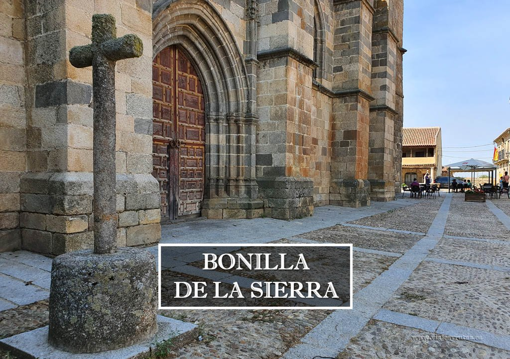 De paseo por Bonilla de la Sierra, Ávila