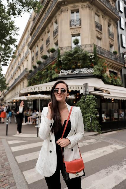 Alicia Mara at Café de Flore in Paris
