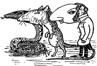 antisemitic cartoon, Viau 1900