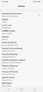 How to change the language on a vivo phone, English, Korean, Japanese