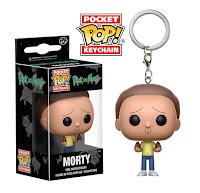 Pocket Pop! Keychain Morty