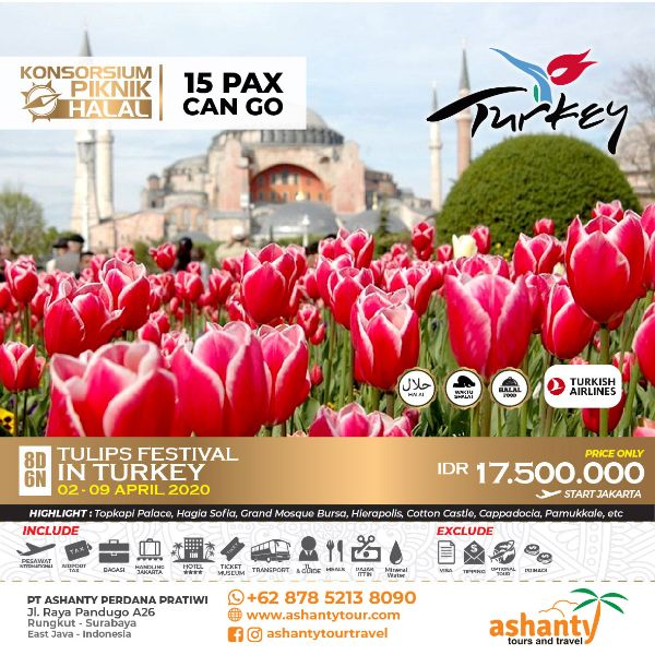 tour turkey surabaya