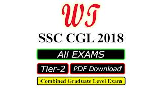 SSC CGL 2048 Tier 2 Exams PDF Download