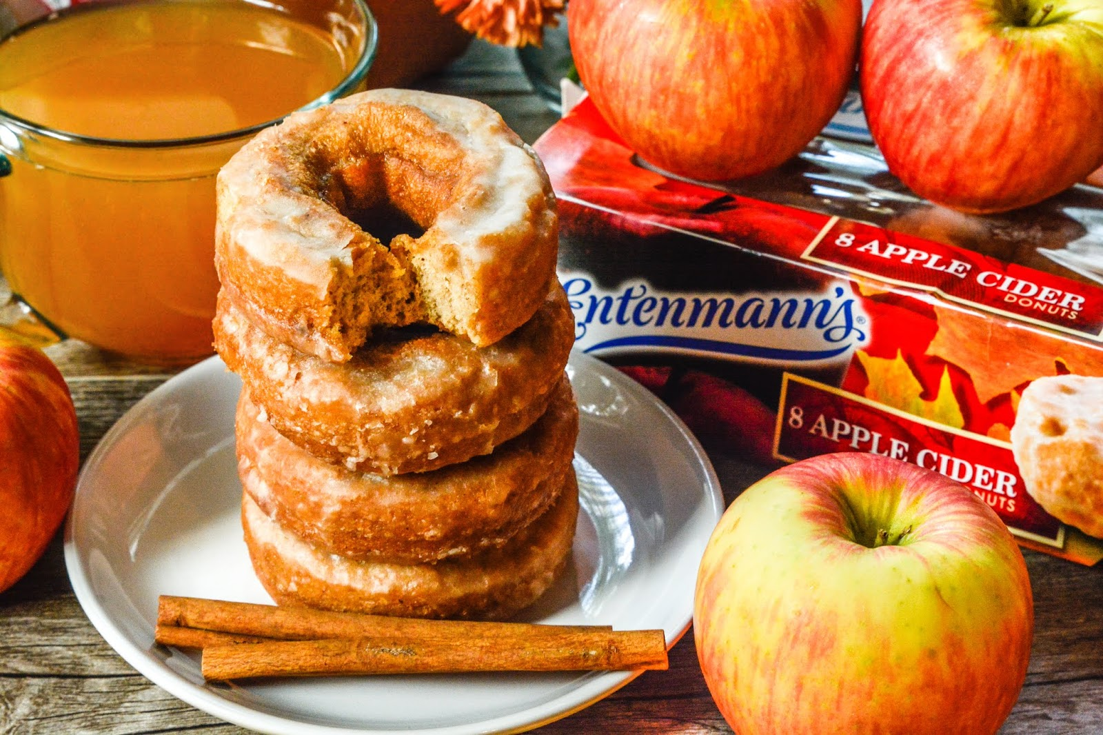 Entenmann's Apple Cider Doughnuts