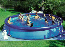 Piscinas y piletas agosto 2011 for Accesorios para piscinas inflables