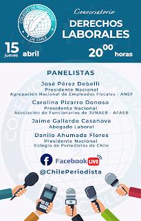 Colegio de Periodistas realizará primer conversatorio sobre Derecho Laboral