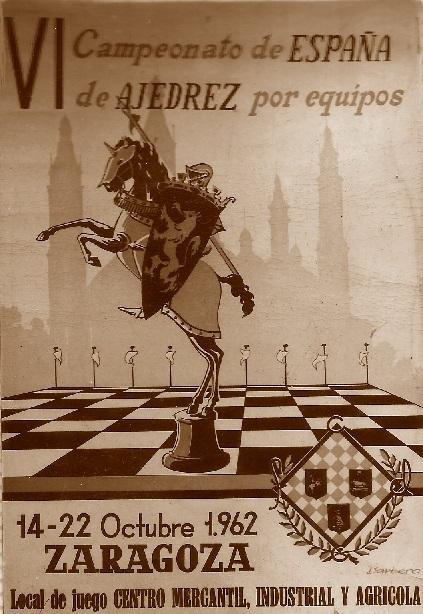 Cartel del VI Campeonato de España por equipos